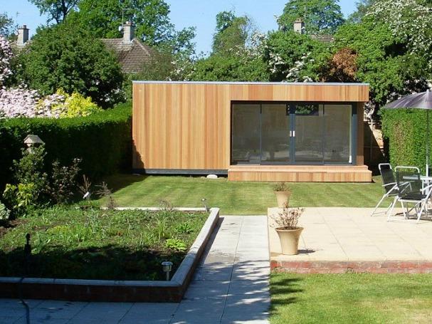 A different garden, another studio.