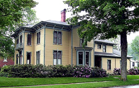 Italianate house from Titusville, PA ca 1871
