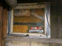 Windows insulated with fiberglass