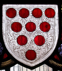 Diaper pattern on a shield - A basis for the term used for brick patterns