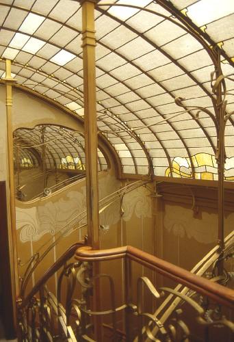 Victor Horta's Art Nouveau home