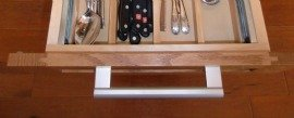 Wheelchair accessible homes need wide drawer handles