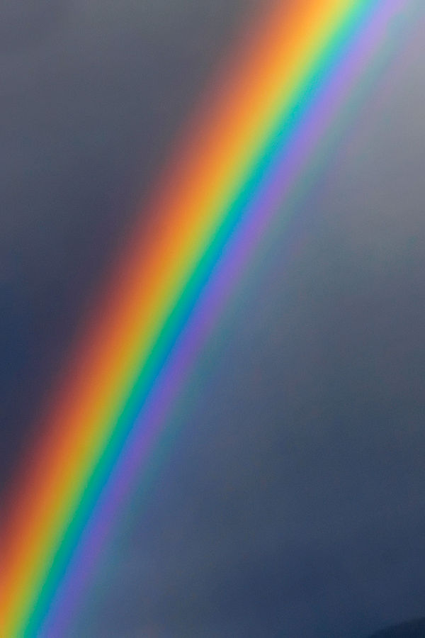 From One End Of The Visible To Other All Colors Are Represented And We Can See These Same When Look At A Rainbow