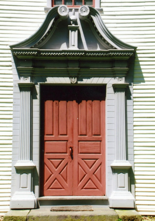 Decorative front doors a look at entryway architecture - Decorative exterior door pediments ...