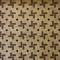 Traditional floor tile pattern of squares and rectangles -bathroom tile design ideas