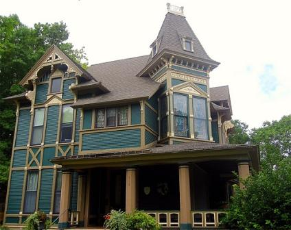victorian house styles include the eastlake design like this 1882 house for ae stockwell - Steamboat Gothic House Plans