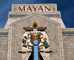 Mayan Art Deco Theater Denver