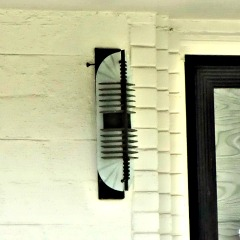 Art Deco Porch Light