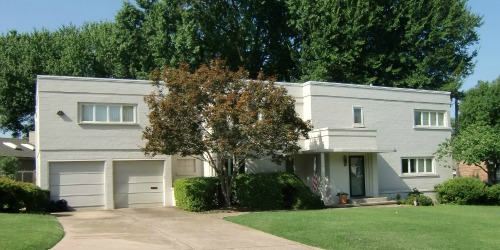 Art Deco home 1718 E 37th St Tulsa OK ,1941
