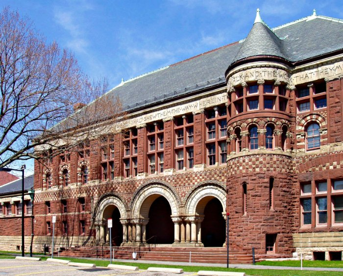 Austin Hall - Harvard -1881- Henry Hobson Richardson