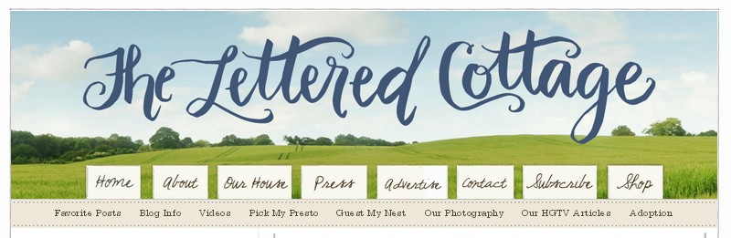 Click on the picture to go to my blog review of The Lettered Cottage