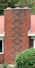 Brick Pattern in Chimney