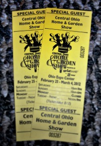Tickets to the 2012 Columbus Home and Garden Show