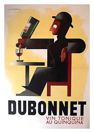 Cassandre Art Deco advertisement for Dubonnet