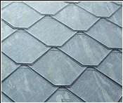 CastleTop offers this tile that is nearly identical in shape to my asbestos tile - at two-and-a-half times the price - but I didn't like the color match
