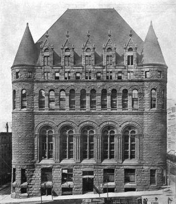 Cincinnati Chamber of Commerce Building- Henry Hobson Richardson - 188