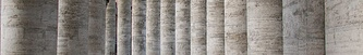 Columns from St Peter's Cathedral