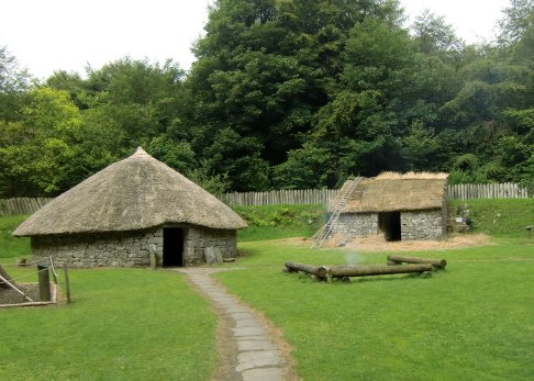 The ringfort at Craggaunowen