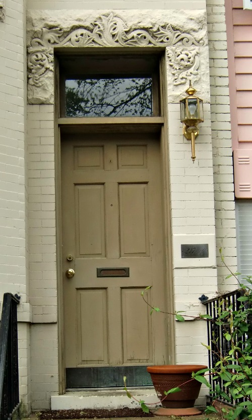 Another beautiful DC doorway.