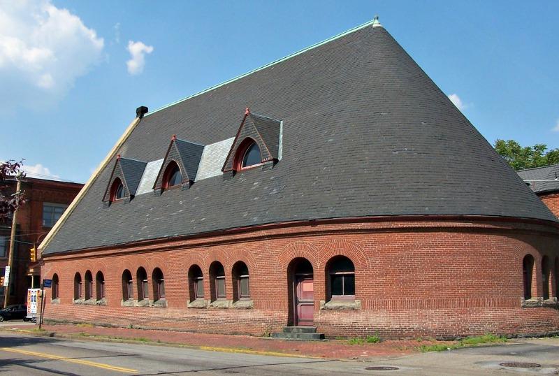Emmanual Episcopal - 1883 - Richardsonian Romanesque by Henry Hobson Richardson