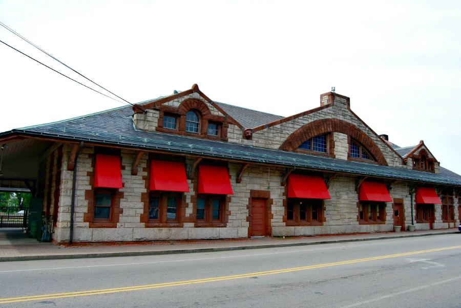 Framingham (Ma) RR Station - 1883
