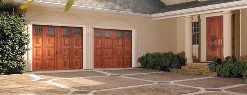 garage doors, raised panel garage doors