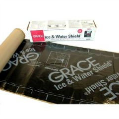 Roofing Underlayment - W.R. Grace's Ice and Water Shield