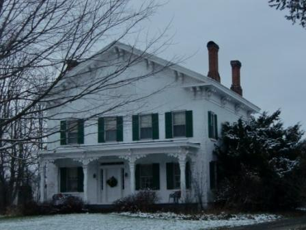 Greek Revival Architecture, Luther Boyden Farm