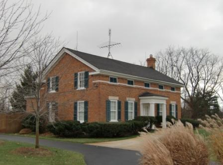 Greek Revival Architecture, Treadwell Popkins house