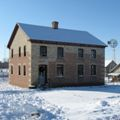 The Belgian Farmhouse at the Heritage Hills State Historical Park