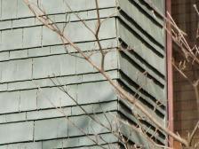 A double row of shingles