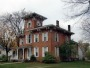 A brick Italianate house in Hillsdale, Michigan