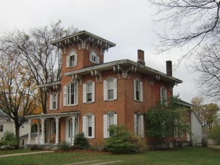 Brick Italianate in Hillsdale, MI
