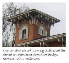 Italianate Roof Design - An Italianate belvidere in Hillsdale, MI