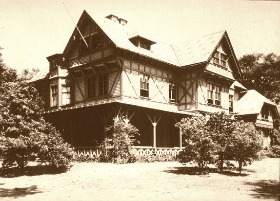 The first Stick Style home - JNA Griswold home - 1862