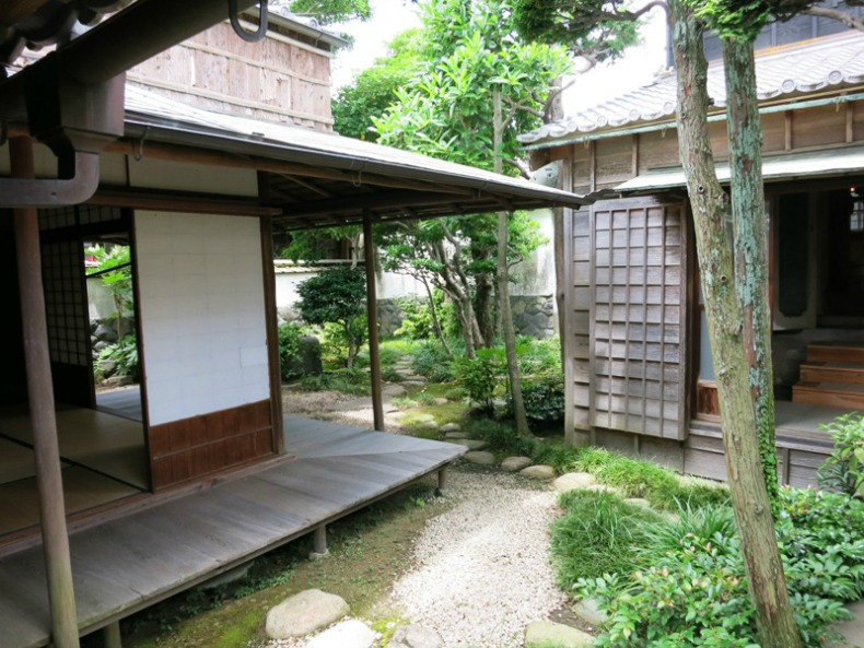 This Japan house is from an old warehouse district lining the river in the town of Ise