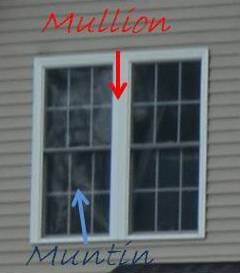Mullion and Muntin Example