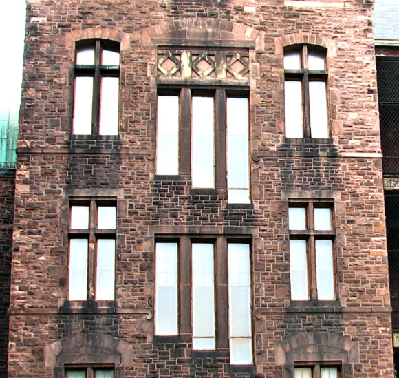 NY State Asylum Window Detail - HH Richardson