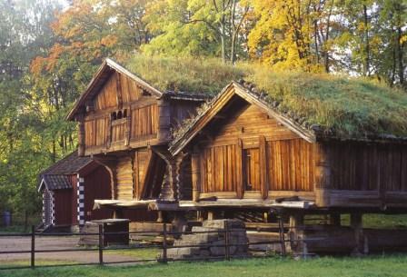 Telemark farmstead at Norsk Folkemuseum