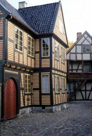 The bookbinder's house at the Norsk-Folkemuseum