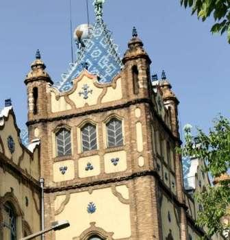Odon Lechner's  Geological Museum in Budapest with Art Nouveau influences