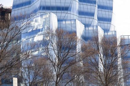 Postmodern IAC Building
