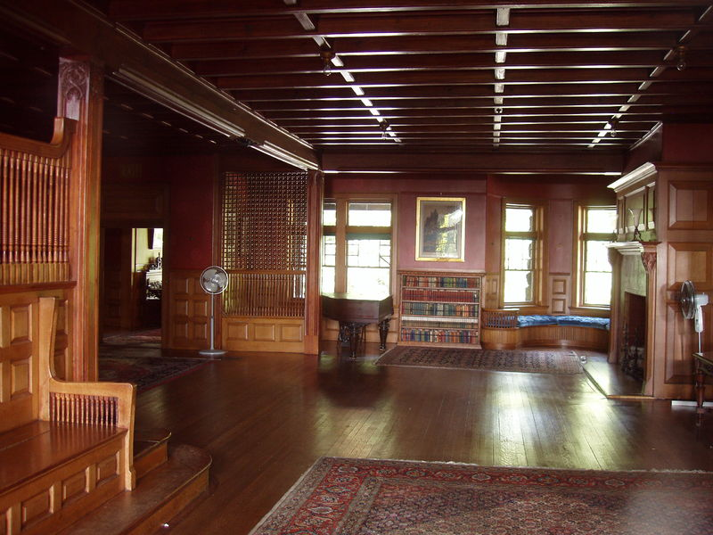 Robert Treat Paine Interior by Henry Hobson Richardson