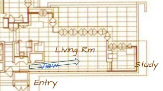 Rosenbaum House, explaining view of above photo