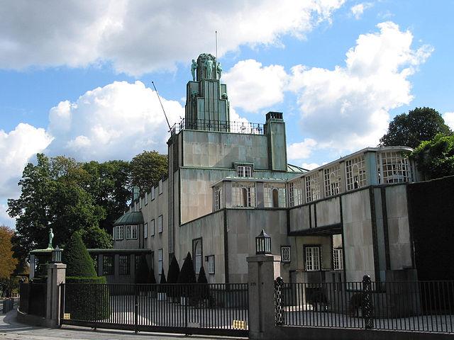 Stoclet Palace Art Nouveau home by Josef Hoffman