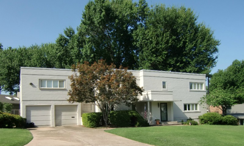 An Art Deco home in Tulsa