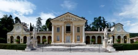Villa Barbaro, designed by Palladio, in Maser, Italy