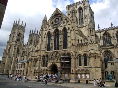 York Minster.  Memory involves being true to the cultural past, including architectural treasures like the Gothic Cathedrals.
