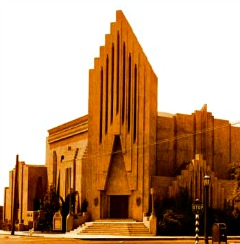 Art Deco Church of Religious Science, Ventura, CA