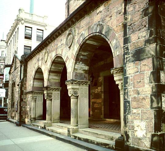Brattle Street Square Church